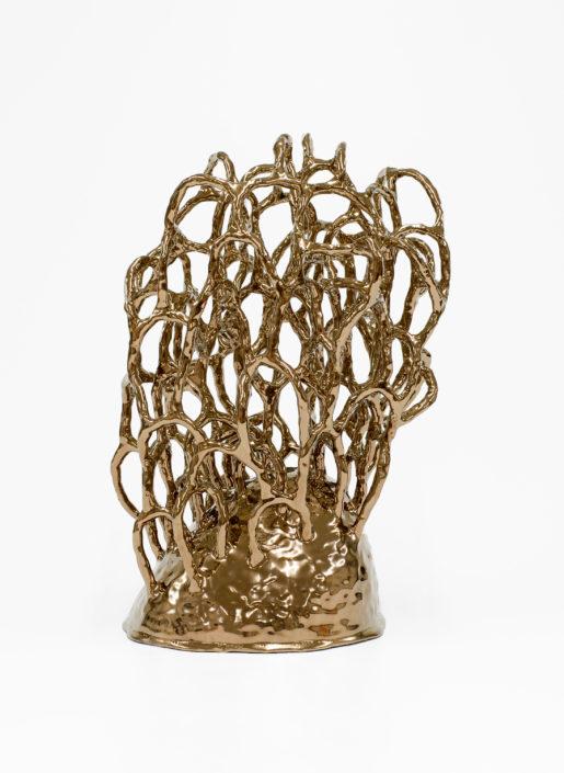 Linda Lopez. Untitled (Gold Bush 4), 2016.