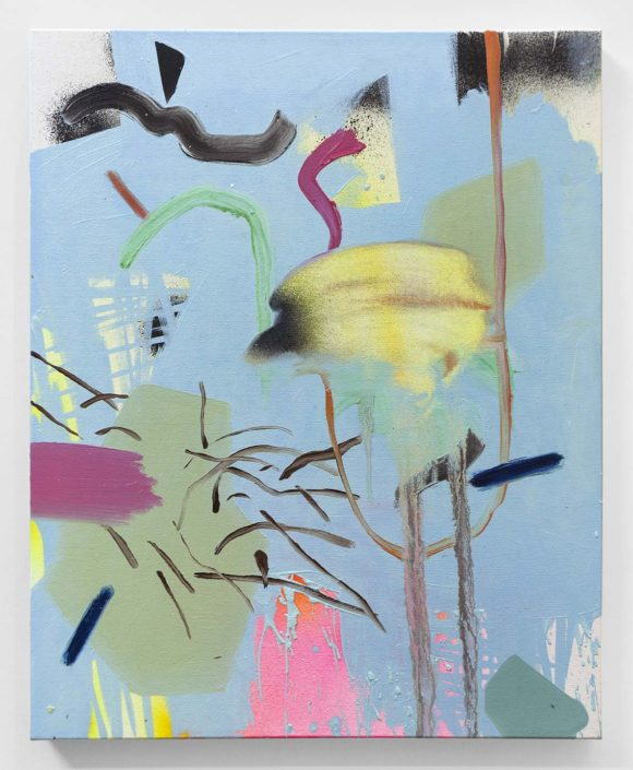 Jennifer Lefort. Hanging in the Air (over sunset hues), 2016.
