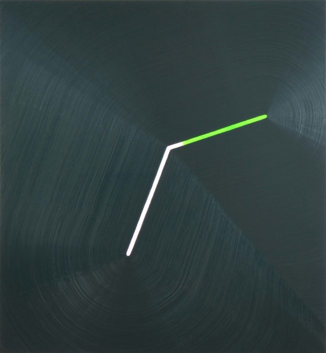 "Osamu Kobayashi Break, 2014 Oil on canvas 52' x 48""Break, 2014"