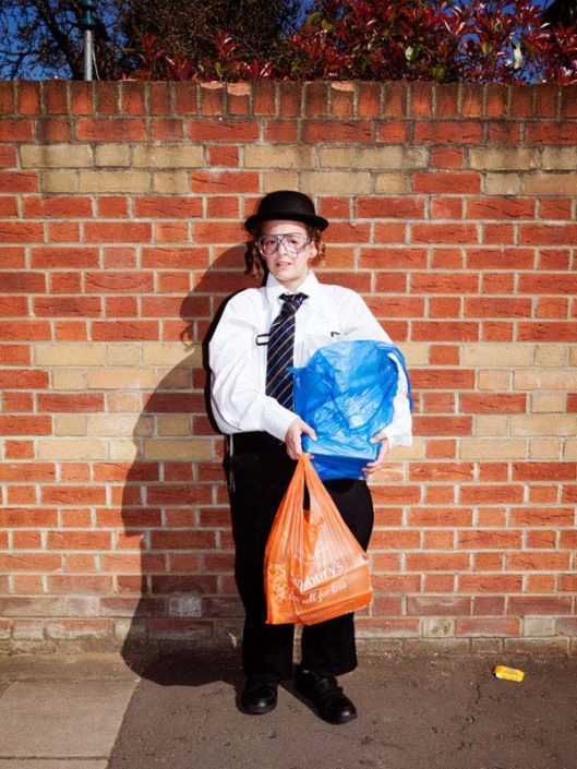 Muir Vidler. Boy, Wall, London, 2014