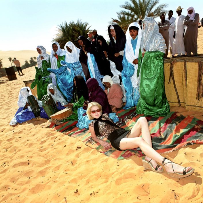 Muir Vidler. Gorana Relic, Miss Net Croatia in Libya