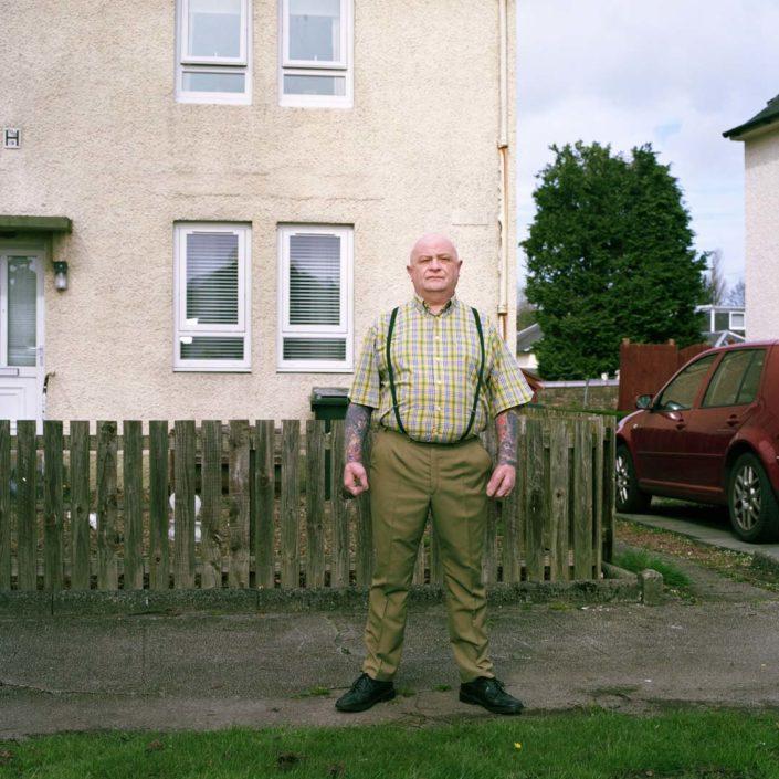 Muir Vidler. Ian Baillie, House, Kilmarnock, 2014
