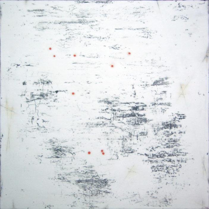 Sungyee Kim. Meditation 38/ Four Dots 10, 2016