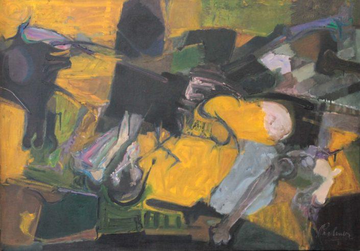 William Pachner. Nature Morte #1, 1961