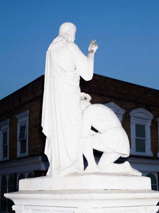 Muir Vidler. Statue, London, 2013