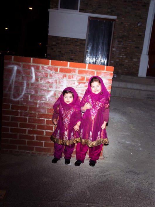Muir Vidler. Two Girls, London, 2014