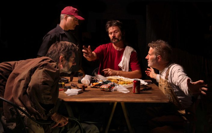 Generic Art Solutions. The Supper of Emmaus, 2013