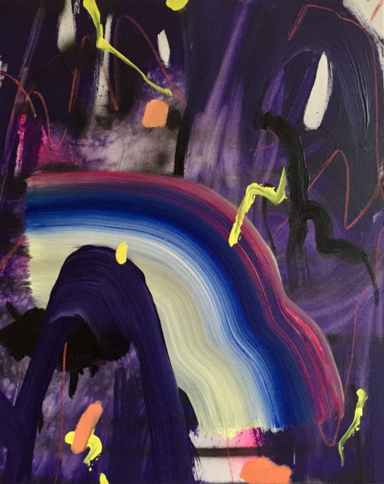 Jennifer Lefort. Come Together (Purple), 2017