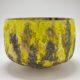 "Jay Kvapil, Yellow and Black bowl, 2017 Ceramic 9.5"" x 13"" x 13"""