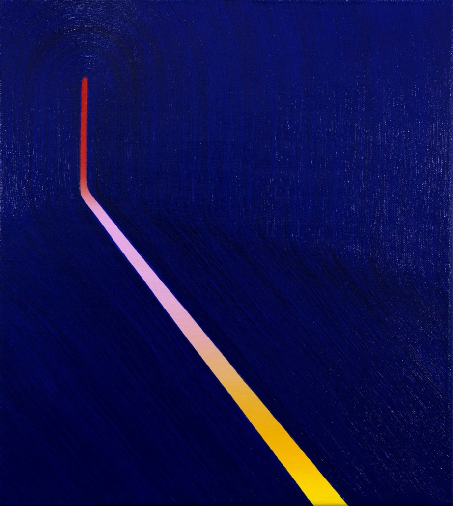Osamu Kobayashi Slit, 2020 Oil on canvas 18 x 16 in.