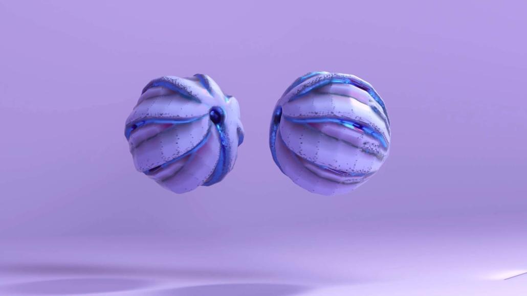 Alex McLeod Purple Flowers, 2019 Digital video