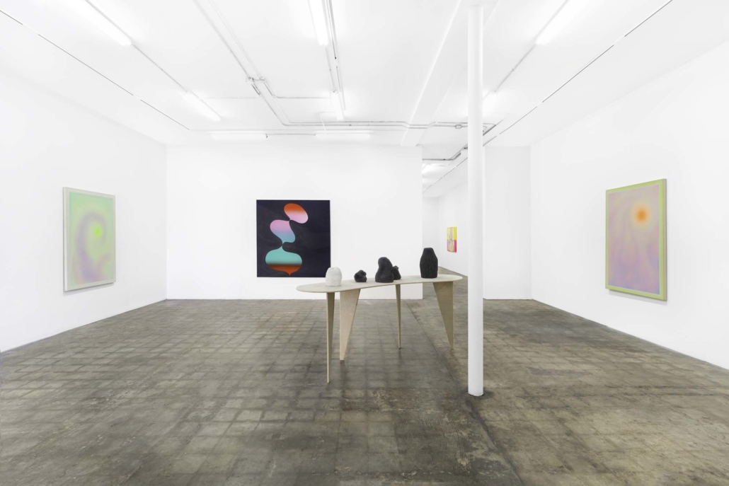 This is Where a Line Begins, installation view. Photography by Zachary Balber.