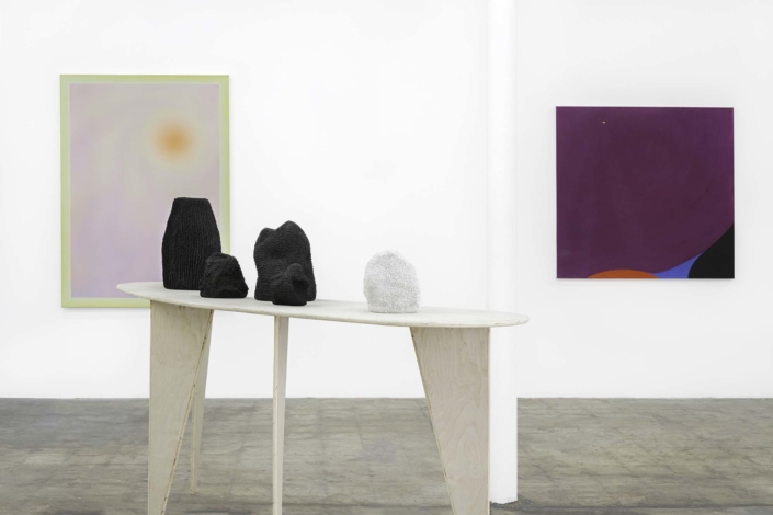 Mindy Solomon Gallery, This is Where a Line Begins, Installation view, 2020
