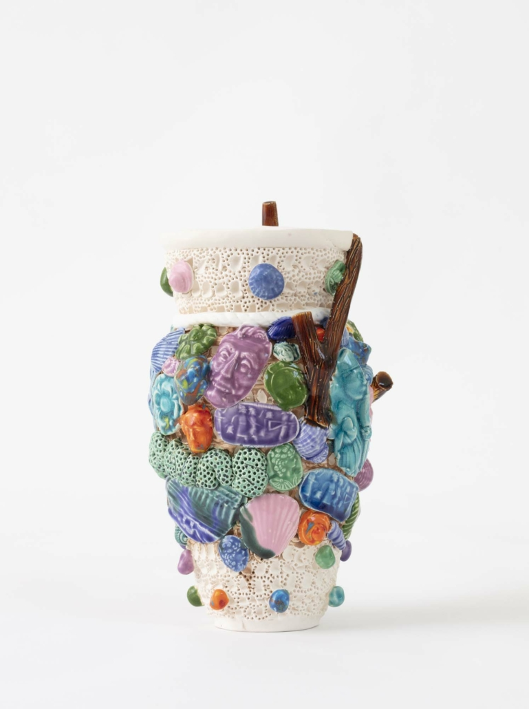 Glenn Barkley, known unknowns 2020, earthenware, 26.5 x 15 cm