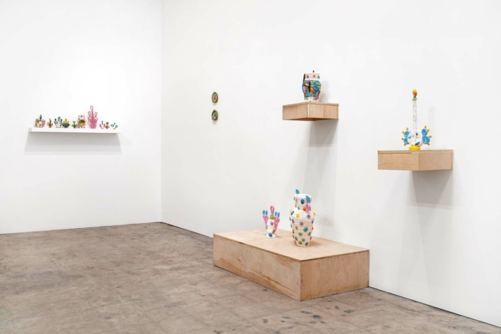 Glenn Barkley, I Contain Multitudes, Installation view.