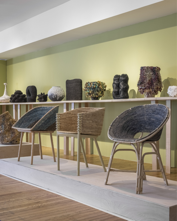 Mindy Solomon Gallery at Design Miami 2020, installation view