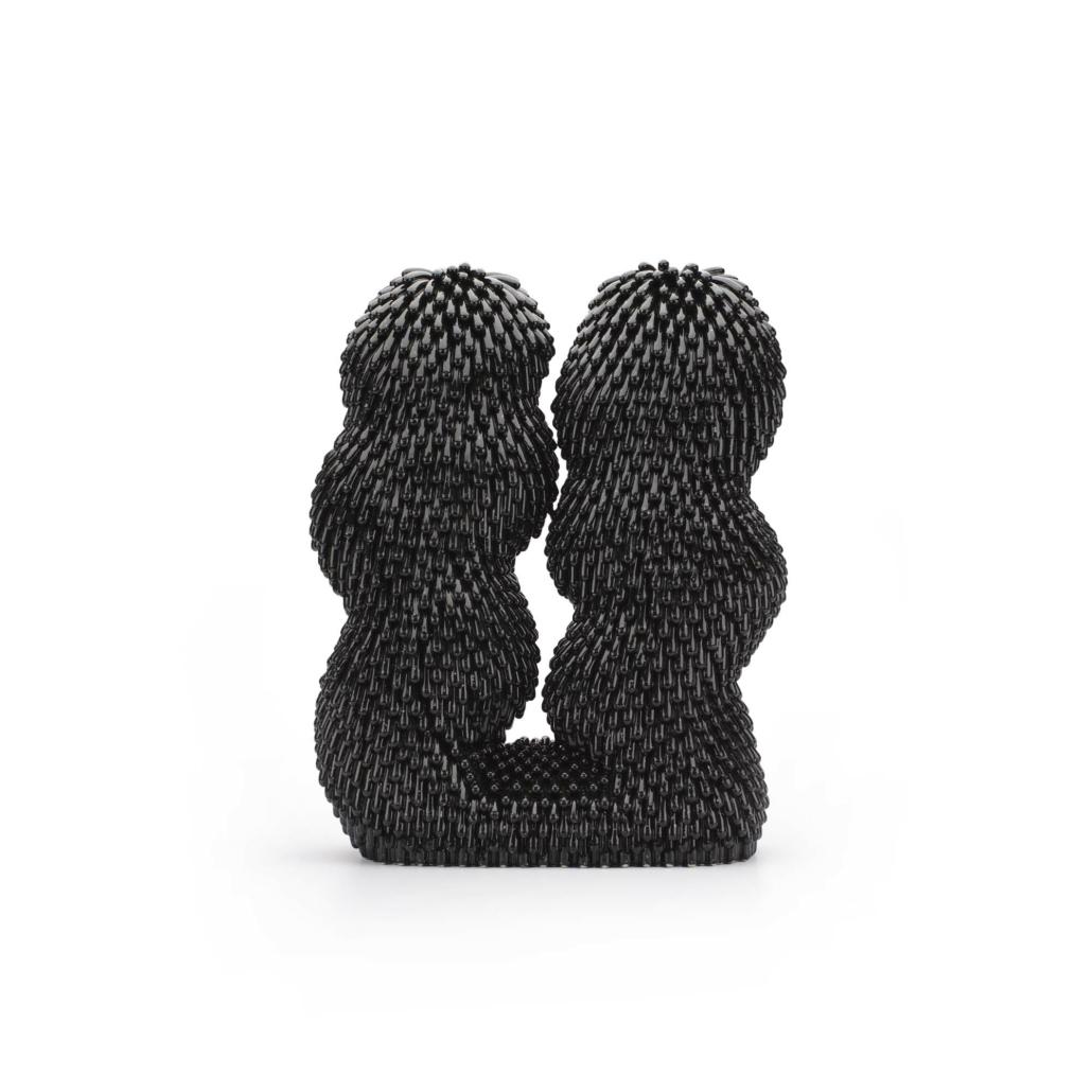 Linda Lopez, Space Dust Furry, 2020, Ceramic, 18.25 x 13.75 x 5.5 in.