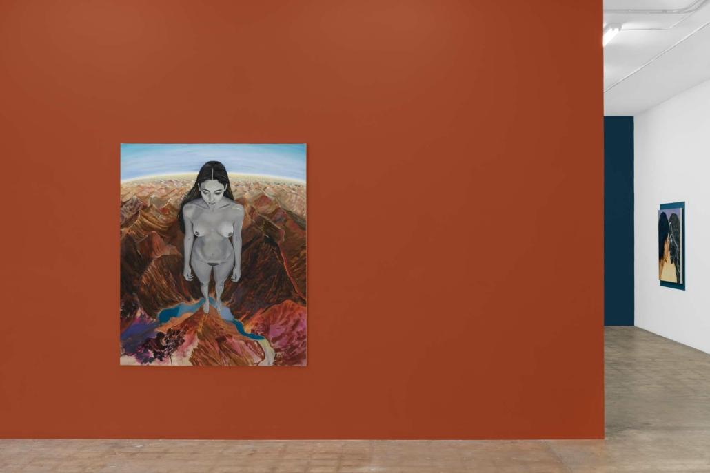 Nadia Waheed: I climb, I backtrack, I float, installation view. Photography by Zachary Balber.