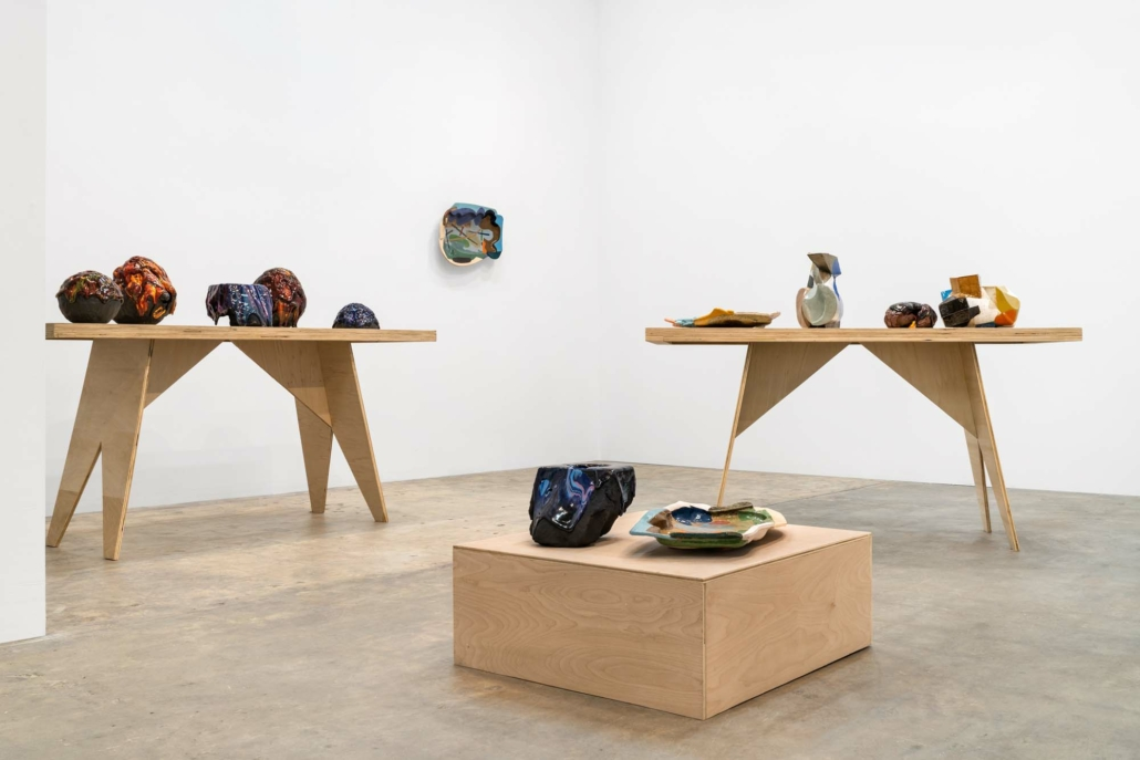 Kiyoshi Kaneshiro & John Gill: Swell, Installation view. Photography by Zachary Balber.