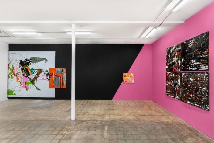 Alejandro Contreras: Güelcome to my Bereaved Chimera of La La Land, installation view. Photography by Zachary Balber.