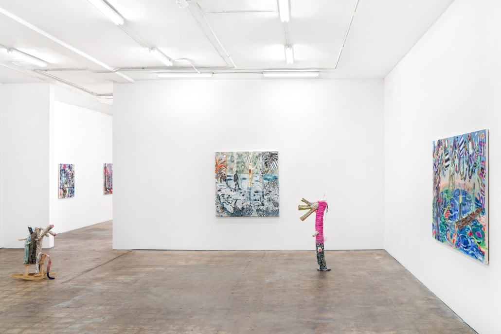 Melanie Daniel: After the Flood, installation view. Photography by Zachary Balber.