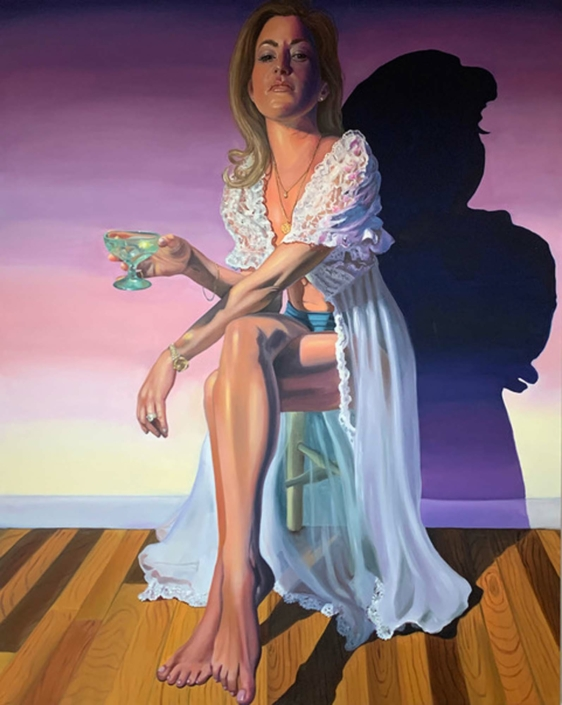 "Thérese Mulgrew, Annie, 2020, Oil on canvas, 60"" x 48"""